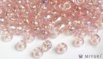 Miyuki 6/0 Glass Beads 292 - Transparent Pale Pink AB approx. 30 grams