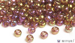 Miyuki 8/0 Glass Beads 301 - Rose Gold Luster approx. 30 grams