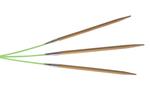 "8"" 2.5 US/3mm Bamboo HiyaHiya Flyers - Pack of 3"
