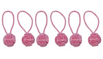 HiyaHiya Pink Yarn Ball Stitch Markers (6pk)