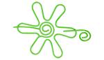 Nirvana Daisy Shawl Pin - Lime