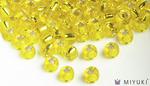 Miyuki 8/0 Glass Beads 6 - Silverlined Yellow approx. 30 grams