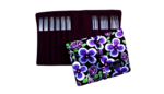 """HiyaHiya 6"""" Sharp Double Pointed Gift Set with Nirvana Case (assorted colors)"""