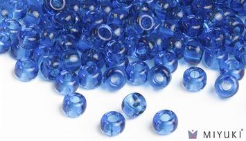Miyuki 6/0 Glass Beads 149 - Transparent Capri Blue approx. 30 grams picture
