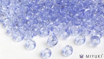 Miyuki 6/0 Glass Beads 159L - Transparent Light Cornflower Blue approx. 30 grams picture
