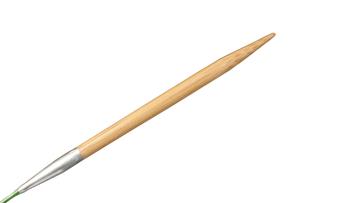 """16""""  8 US/5mm HiyaHiya Bamboo Circular Needle picture"""