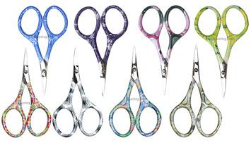 Nirvana Needle Arts Colorful Handle Scissor (Assorted Colors) picture
