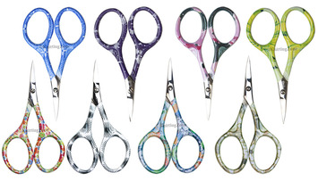 Nirvana Needle Arts Colorful Handle Scissor (Assorted Colors) picture