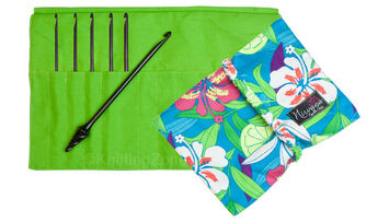"Nirvana Ebony Crochet Hook Gift Set with 7"" Needle and Hook Case picture"