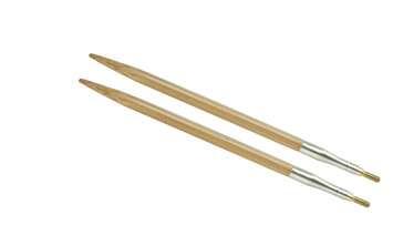 "4"" 3 US/3.25mm HiyaHiya Bamboo interchangeable tip picture"