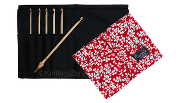 "Nirvana Maple Crochet Hook Gift Set with 7"" Needle and Hook Case picture"