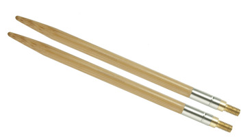 """5"""" 9 US/5.5mm HiyaHiya Bamboo interchangeable tip picture"""