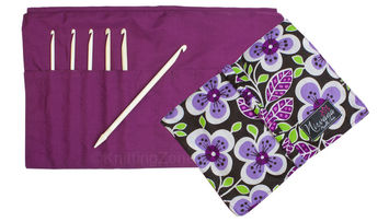 "Nirvana Bone Crochet Hook Gift Set with 7"" Needle and Hook Case picture"