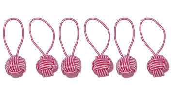 HiyaHiya Pink Yarn Ball Stitch Markers (6pk) picture