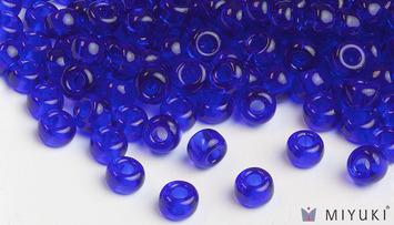Miyuki 6/0 Glass Beads 151 - Transparent Cobalt approx. 30 grams picture