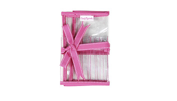 Interchangeable Needle Case with Pink Trim - Clearly Organized picture