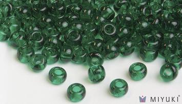 Miyuki 6/0 Glass Beads 147 - Transparent Light Emerald approx. 30 grams picture