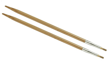 "5"" 8 US/5mm HiyaHiya Bamboo interchangeable tip picture"