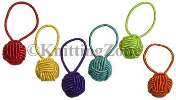 HiyaHiya Yarn Ball Stitch Markers (6pk) picture