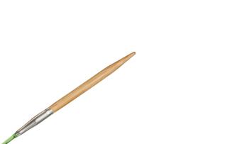 """9""""  1 US/2.25mm HiyaHiya Bamboo Circular Needle picture"""