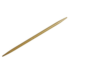 "5"" 10.5 US/6.5mm HiyaHiya Bamboo Double Pointed Needles picture"