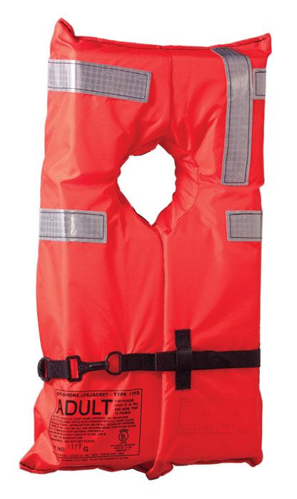 2400f6ab096 Type I Commercial Adult Life Jacket