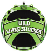 "Wild Wake Shocker - 80"" Round, Three Person Tube"