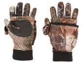 System Gloves with Tech Fingers - Realtree Xtra®