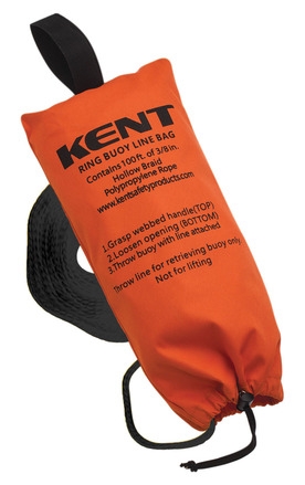 Ring Buoy Line Bag with 100 ft. Line picture