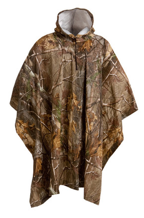 Camouflage Rain Poncho - Realtree AP® picture