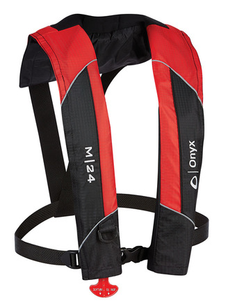 M-24 - Manual Inflatable Life Jacket (PFD) picture