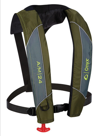 A/M-24 - Automatic / Manual Inflatable Life Jacket (PFD) picture