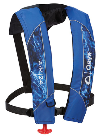 A/M-24 - Automatic / Manual Inflatable Life Jacket (PFD) - Mossy Oak Elements picture
