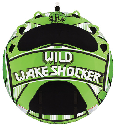 "Wild Wake Shocker - 80"" Round, Three Person Tube picture"
