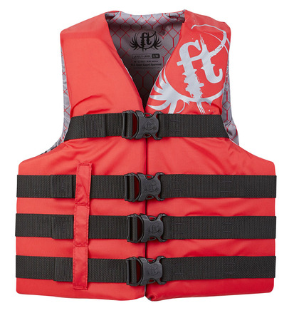 Adult Dual-Sized Nylon Water Sports Vest picture