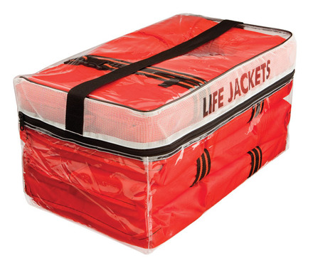 Type II Adult Life Jacket Four Pack w/ Bag picture