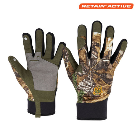 Heat Echo Shooters Gloves - Realtree Edge picture