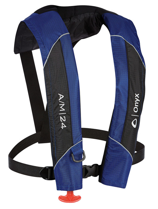 A M 24 Automatic Manual Inflatable Life Jacket Pfd