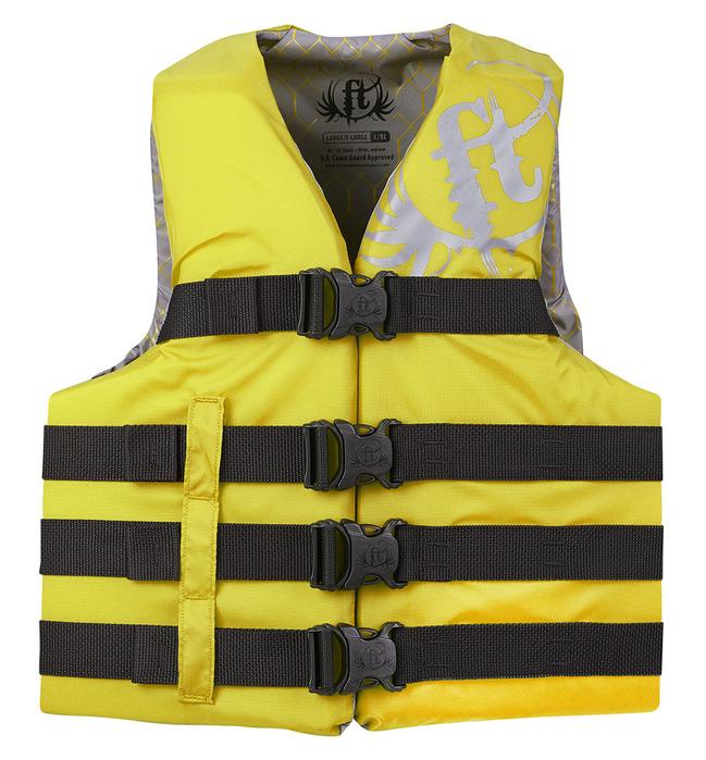 Full Throttle Adult Nylon Life Jacket
