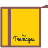 Les Fromages Moutarde Pot Holder