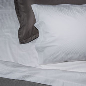 Normandie White 300TC King Sheet Set