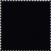 "Plain Black Polyester Tablecloth Round 90"" Rnd"