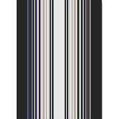 "Paseo Anthracite 20""x28"" Kitchen Towel, 100% Linen"