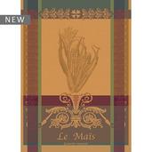 """Le Mais Yellow Kitchen Towel 22""""x30"""", 100% Cotton"""