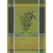 """Olivier Vert Brumeux Kitchen Towel 22""""x30"""", 100% Cotton"""