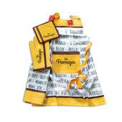 Les Fromages Moutarde 3pcs Kitchen Set