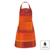 """Mille Wax Ketchup Apron 30""""x33"""", Coated Cotton"""