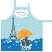 Le Jours de Pluie Riviere Apron