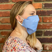 Antimicrobial Washable mask Made in America- 144pcs