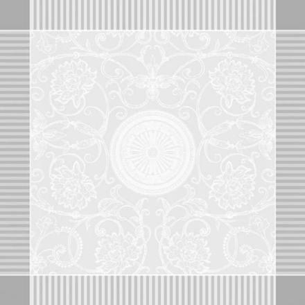 """Apolline White Napkin 21""""x21"""", 100% Cotton picture"""
